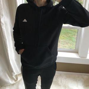 Adidas Hooded Black Sweatshirt
